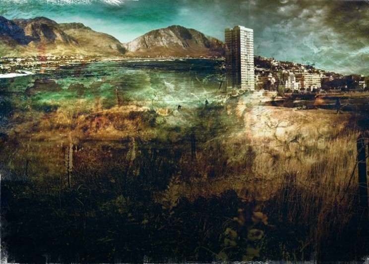 Inspired and created from photographic material from Sea Point, Gordon's Bay and Upington, South Africa